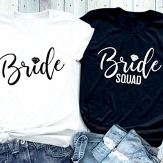 Bridesmaid Gifts - Sexy Cotton T-Shirt (256205562)