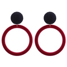 Exquisite Alloy Women's Fashion Earrings (Set of 2)
