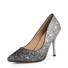 Women's Sparkling Glitter Stiletto Heel Pumps Closed Toe With Others shoes
