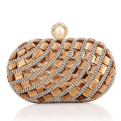 Elegant Crystal/ Rhinestone/Rhinestone/Glass bricks/Alloy Clutches/Bridal Purse