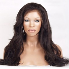 4A Non remy Wavy Human Hair Full Lace Cap Wigs Capless Wigs (Sold in a single piece) 100g
