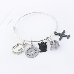 Shining Alloy Women's Fashion Bracelets