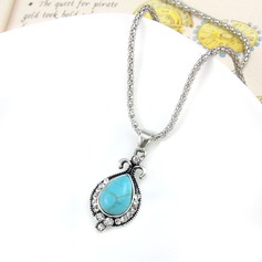 Shining Alloy With Rhinestone Imitation Stones Women's Fashion Necklace
