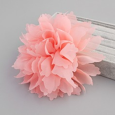 Elegant Silk Flower Flowers & Feathers (Sold in single piece)