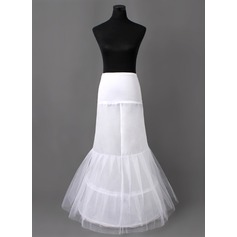 Women Nylon/Tulle Netting Floor-length 2 Tiers Petticoats (037005406)