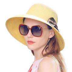 Ladies' Beautiful/Elegant With Bowknot Straw Hats/Beach/Sun Hats