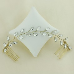 Ladies Amazing Alloy Combs & Barrettes With Crystal (Sold in single piece)