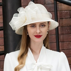 Ladies' Fashion/Elegant/Fancy Cambric With Flower Beret Hats/Kentucky Derby Hats/Tea Party Hats