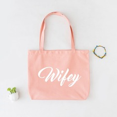 Bride Gifts - Elegant Cotton Tote Bag