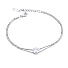 Simple Zircon Ladies' Fashion Bracelets