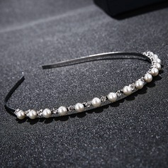 Ladies High Quality Alloy Tiaras With Venetian Pearl/Crystal