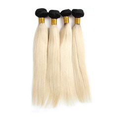 4A Non remy Straight Human Hair Human Hair Weave (Sold in a single piece) 100g (235152667)