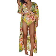 Sexy Polyester One-piece Cover-ups