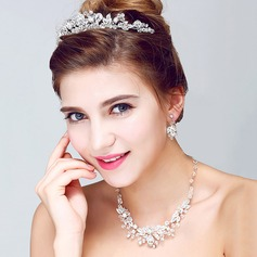 Nice Alloy/Rhinestones Ladies' Jewelry Sets