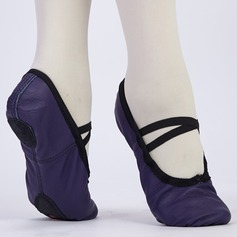Kids' Leatherette Ballet Dance Shoes