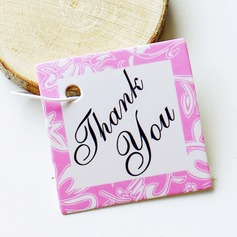 Classic/Elegant Square Card Paper Tags