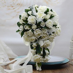 Gorgeous Cascade Foam/Poly Ethylene Bridal Bouquets