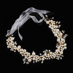 Imitation Pearls Headbands With Venetian Pearl (Sold in single piece)
