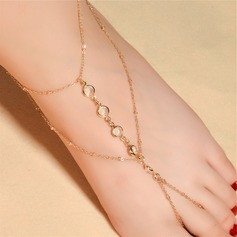 Alloy Foot Jewellery (Sold in a single piece) (107122625)