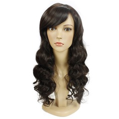 Curly Mid-Length Long Synthetic Wigs (Sold in a single piece)