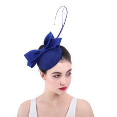 Ladies' Glamourous/Elegant/Exquisite Cambric With Feather Fascinators