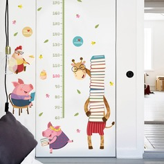 Casual Cartoon PVC Wall Sticker (Sold in a single piece)