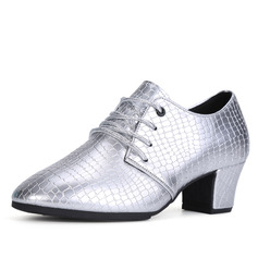 Women's Heels Latin Jazz With Lace-up Dance Shoes