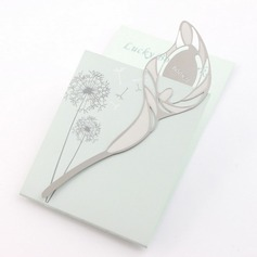 Lovely Lily Design Zinc Alloy Bookmarks