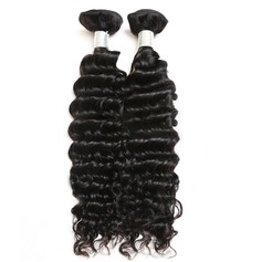 5A Non remy Deep Human Hair Human Hair Weave (Sold in a single piece) 100g