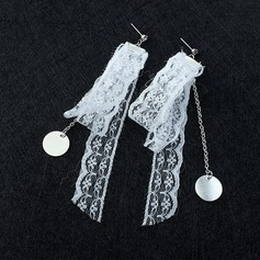 Beautiful Copper Lace Ladies' Fashion Earrings