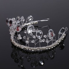 Elegant Crystal Tiaras (Sold in single piece)