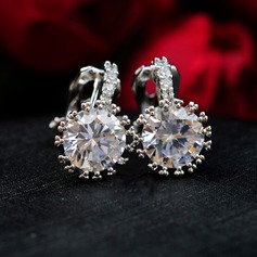 Romantic Zircon Ladies' Earrings