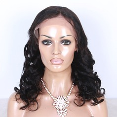 5A Virgin/remy Wavy Human Hair Lace Front Wigs
