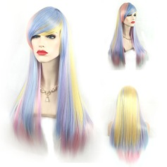 Long Synthetic Straight Capless Cosplay Women's Wig