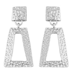 Chic Alloy Women's Fashion Earrings (Set of 2)