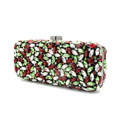Attractive Acrylic/PU Clutches/Wristlets
