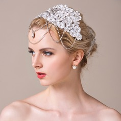 Gorgeous Rhinestone/Lace Forehead Jewelry