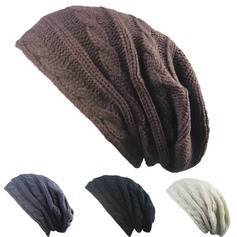 Ladies' Fashion/Special/Glamourous/Classic Polyester Beanie/Slouchy