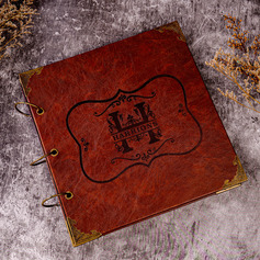 Personalized Leather Guestbook