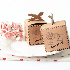 Classic Cuboid Card Paper Favor Boxes