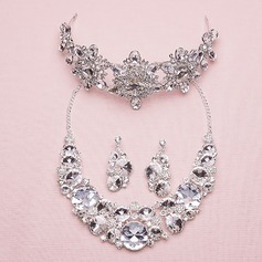 Attractive Alloy/Rhinestones With Rhinestone Ladies' Jewelry Sets