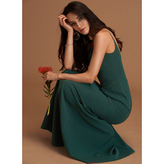 V-Neck Sleeveless Maxi Dresses (293250216)