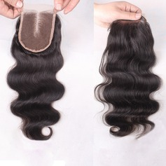 "4""*4"" 6A Body Human Hair Closure (Sold in a single piece)"