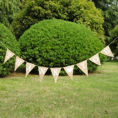 """Thank you""/Triangle Burlap Photo Booth Props/Banner"