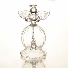 Angel Design Glass Wedding Bells