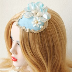 Ladies' Fashion Spring/Autumn/Winter Cotton/Lace With Pearl Beret Hat