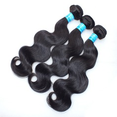 4A Body Wavy Human Hair Hair Weaves/Weft Hair Extensions (Sold in a single piece)