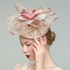 Damene ' Glamorøse/Elegant/Jobb Cambric med Fjær Fascinators/Kentucky Derby Hatter