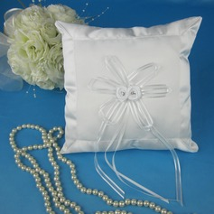 Simple Ring Pillow With Ribbons/Bow