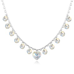 Ladies' Luxurious Crystal Necklaces For Bride/For Bridesmaid/For Friends